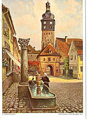 Hotel Cafe Gruner Baum Bavaria Germany cs5521 (Image1)