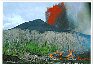 Puu Oo Lava Fountain (Image1)