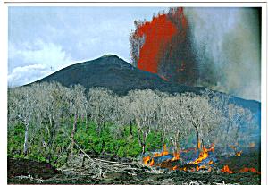 Puu Oo Lava Fountain Hawaii Volcanos National Park  cs5538 (Image1)