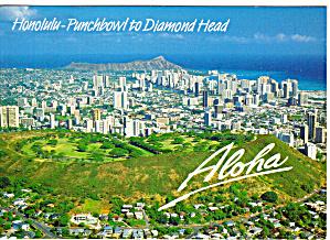 Honolulu Punchbowl to Diamond Head Hawaii cs5543 (Image1)