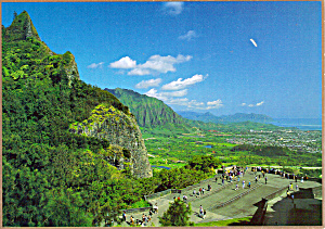 The Nu Uanu Pali Lookout Oahu Hawaii Cs5552