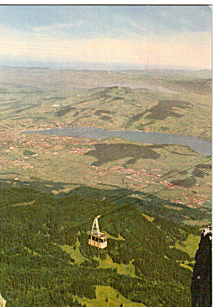 Aerial Cableway View Of Lucerne Switzerland Cs5587