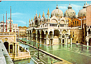 Piazza San Marco High Water Venice Italy cs5594 (Image1)