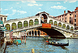 The Rialto Bridge Venice, Italy (Image1)