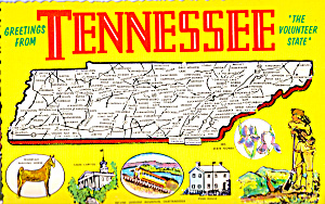 State Map of Tennessee cs5638 (Image1)