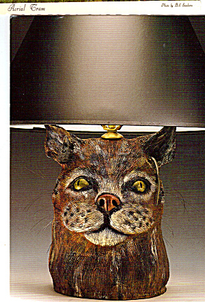 Cat and Mouse Lamp, Deborah Fleck-Stabley (Image1)