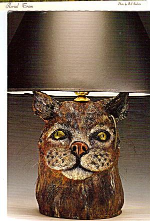 Cat and Mouse Lamp Deborah Fleck-Stabley cs5663 (Image1)