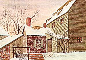 Christmas Eve by Jay McVey Postcard cs5677 (Image1)