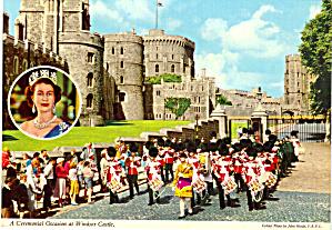 Windsor Castle England Postcard cs5702 (Image1)