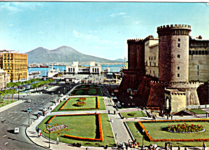 The Castle of Anjou and the Harbour Naples Italy cs5740 (Image1)