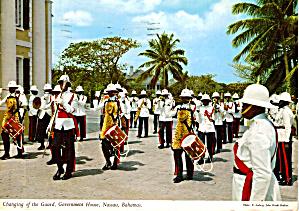 Changing of the Guard Government House Nassau Bahamas cs5764 (Image1)