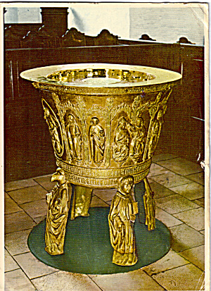 Font Cathedral of Aarhus Denmark cs5785 (Image1)
