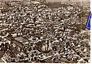 Aerial View Of A City In Germany Cs5790
