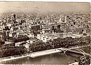 Panorama sur Paris vue prise de la tour Eiffel (Image1)