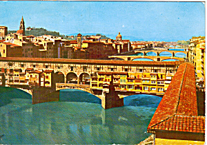 Ponte Vecchio (Old Bridge) Florence, Italy (Image1)
