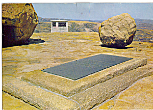 Grave of Cecil John Rhodes Founder of Rhodesia (Image1)