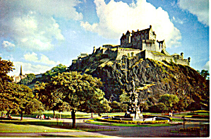 Edinburgh Castle Scotland Postcard cs5857 (Image1)