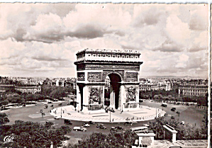 Paris Arc De Triumphe (Image1)