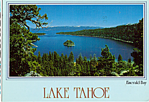 Emerald Bay at Lake Tahoe (Image1)