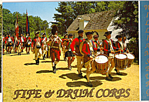 Fife and Drum Corps, Williamsburg (Image1)