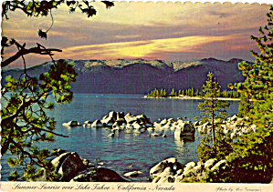 Summer Sunrise at Lake Tahoe (Image1)