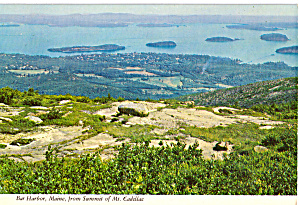 View from Summit of Mt Cadillac of Bar Harbor ME cs5957 (Image1)