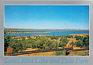 Santa Rosa Lake And State Park New Mexico Cs5962