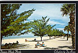 Treasure Island FL White Sand Beach cs5974 (Image1)
