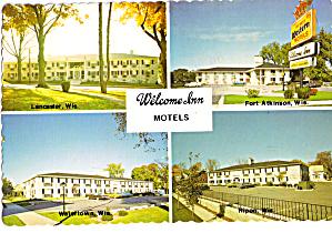 Welcome Inn Motels Postcard cs5981 (Image1)