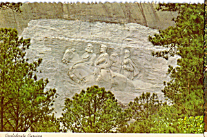Confederate Carving Stone Mountain Georgia cs5994 (Image1)