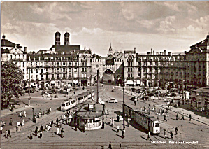 Munich  Karlsplatzrondell Trolleys (Image1)