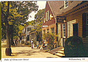 Duke of Gloucester Street, Williamsburg (Image1)