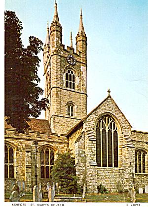 Ashford Kent  England  St Mary s Church cs6032 (Image1)