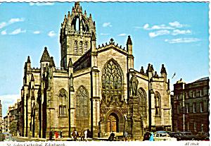 St Giles Cathedral Edinburgh  Scotland cs6034 (Image1)