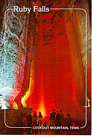 Ruby Falls Lookout Mountain Caverns Cs6035