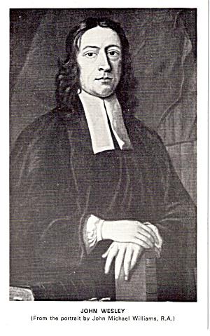 John Wesley Postcard cs6043 (Image1)