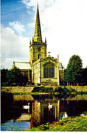 Exterior Holy Trinity Church Stratford Upon Avon Cs6047