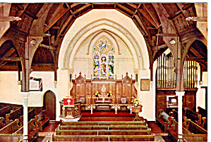Interior of Wesley Memorial Church Epworth England cs6054 (Image1)
