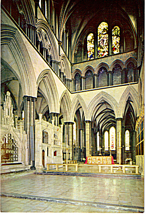 Salisbury Cathedral The Sanctuary England Cs6059