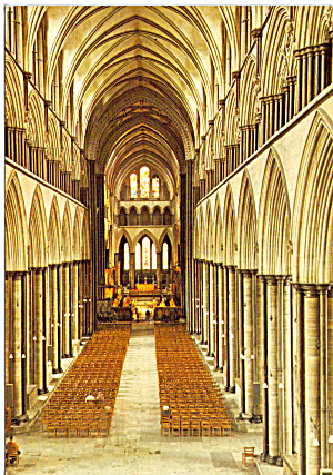 Salisbury Cathedral The Nave England cs6062 (Image1)