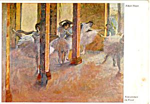 Tanzerinnen im Foyer Edgar Degas Postcard cs6078 (Image1)