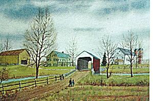 Dutch Country by Jay McVey Postcard cs6084 (Image1)