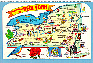 State Map of New York cs6099 (Image1)