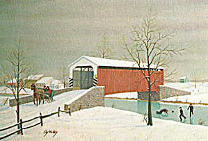 Wintertime by Jay McVey Postcard cs6101 (Image1)