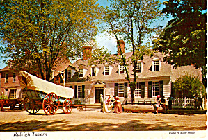 Raleigh Tavern Williamsburg Virginia Cs6104
