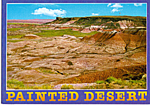 Painted Desert in Petrified Forest National Park AZ cs6107 (Image1)