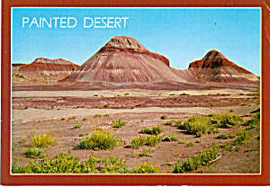 Painted Desert in Petrified Forest National Park (Image1)