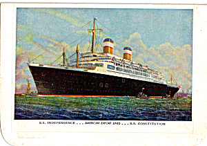 SS Independence American Export Lines cs6149 (Image1)