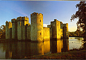 Bodiam Castle East Suffix England Postcard Cs6161