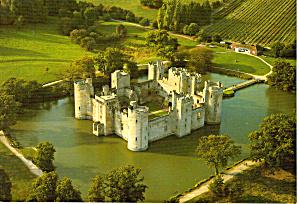 Bodiam Castle East Suffix England Postcard cs6163 (Image1)